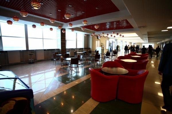 Зал ожидания аэропорта Омск