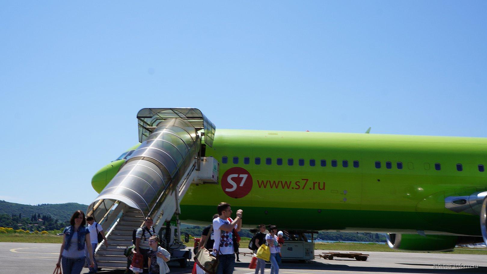 В Черногорию с S7 Airlines