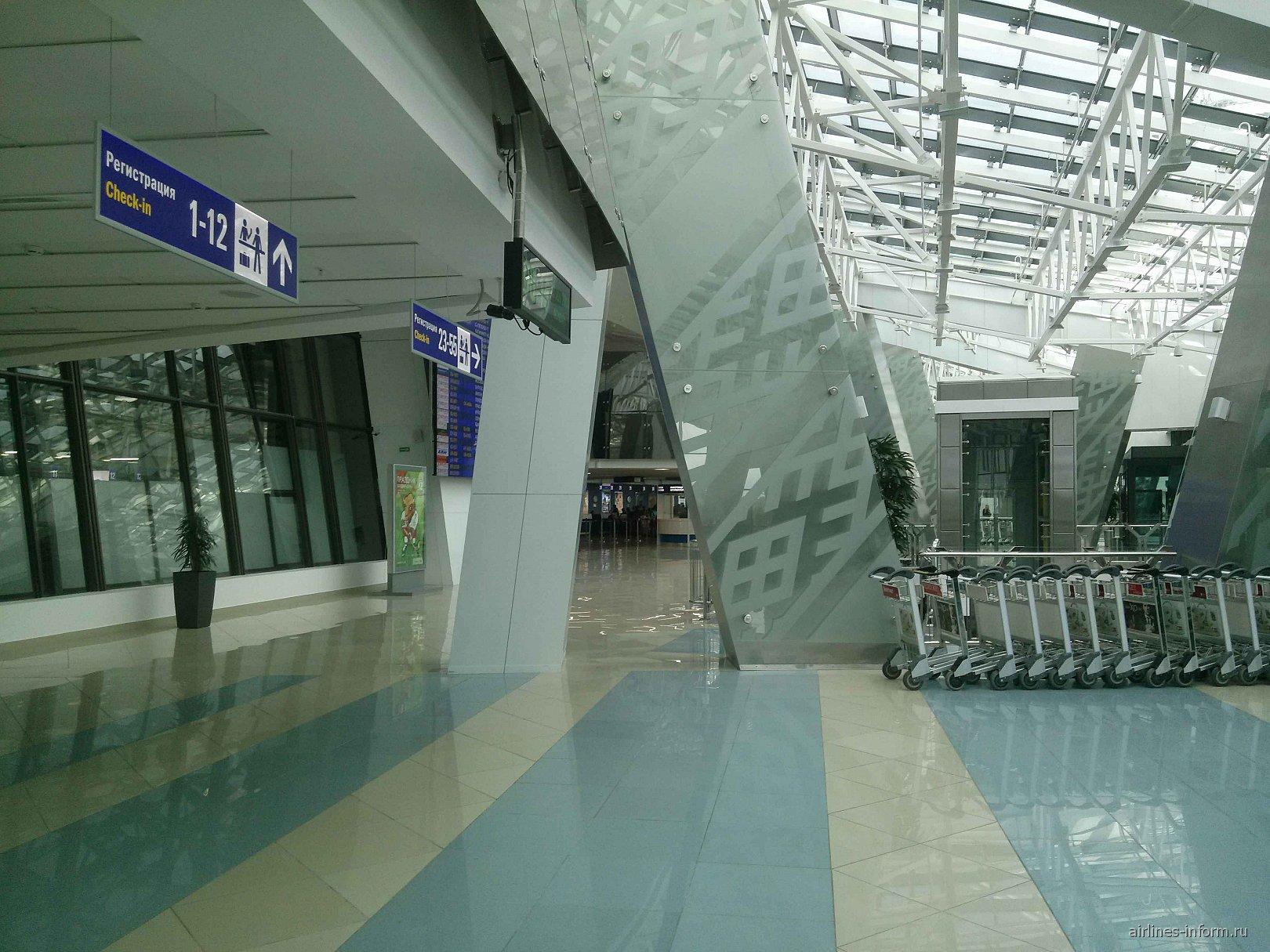 В национальном аэропорту Минска