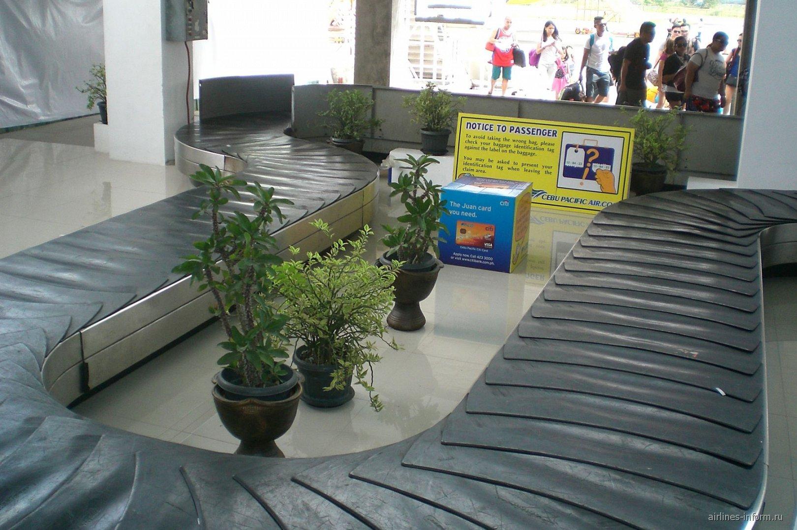 В аэропорту Калибо