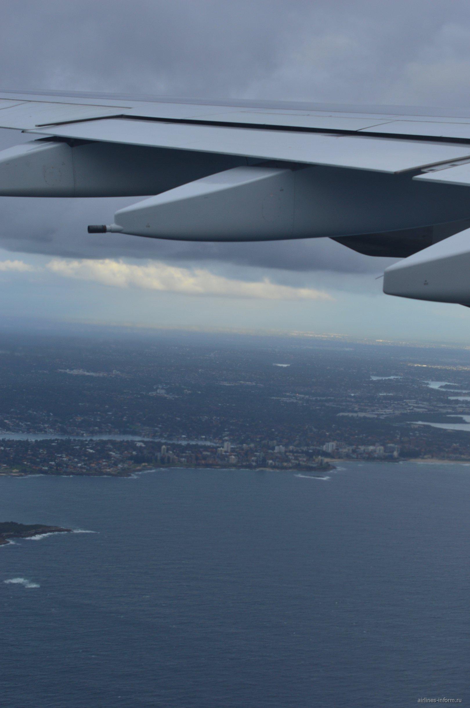Рейс Эмирейтс Дубай-Сидней