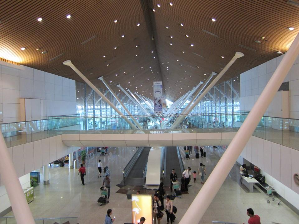 В терминале 2 аэропорта Куала-Лумпур