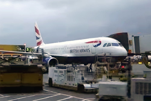 British Airways London Heathrow to Rome FCO