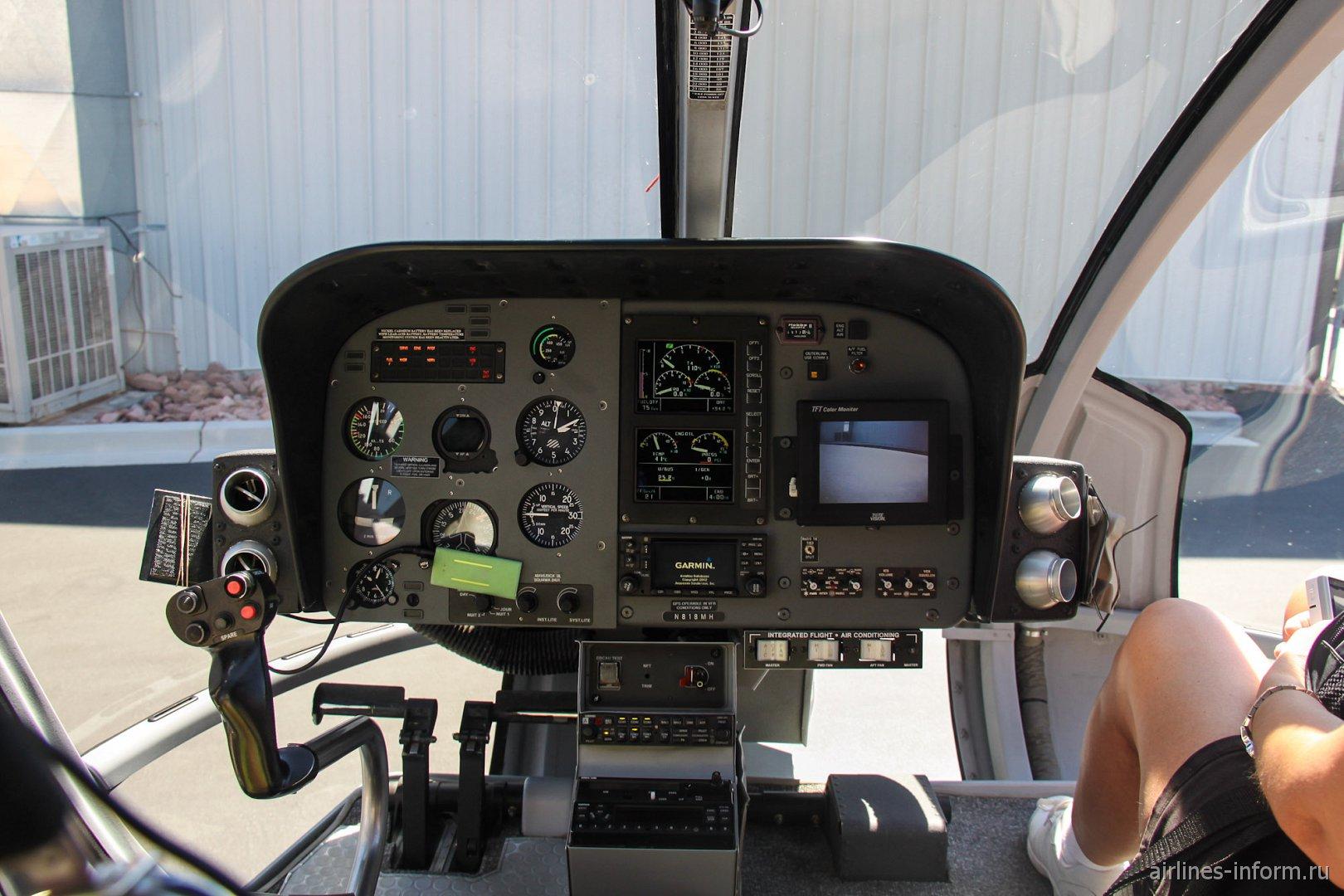 Приборная панель вертолета Еврокоптер EC.130