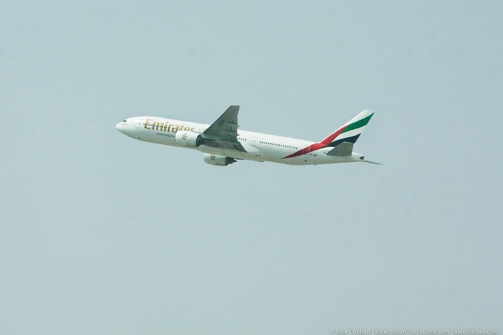 Боинг-777 авиакомпании Emirates