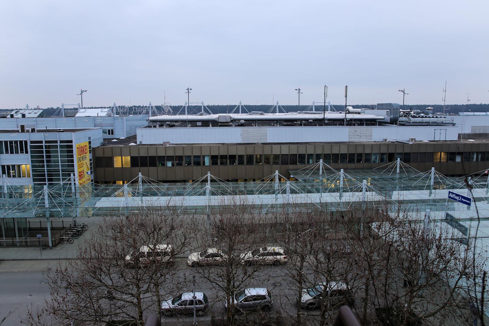 Пассажирский терминал аэропорта Нюрнберг