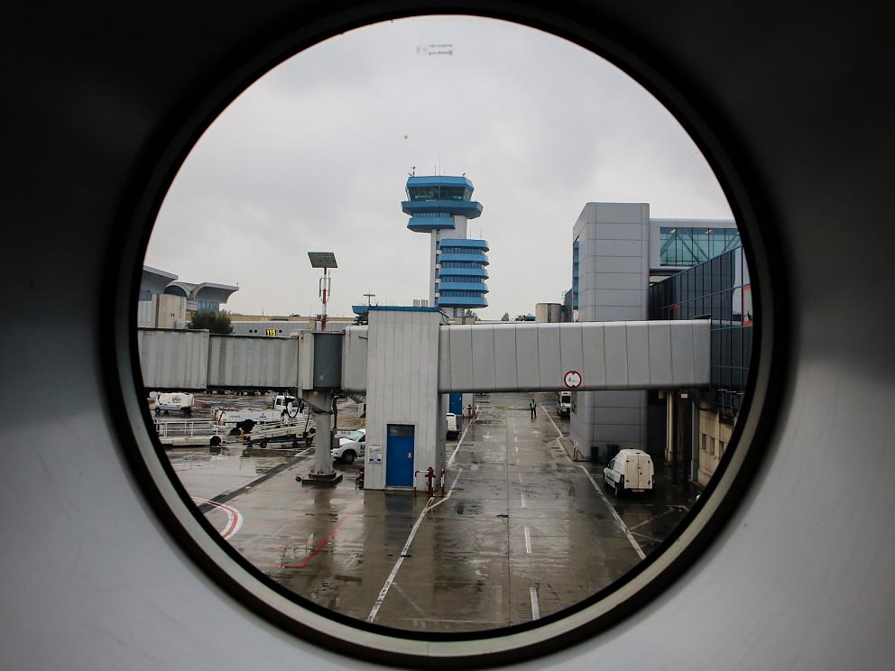Диспетчерская башня аэропорта Бухарест Генри Коандэ