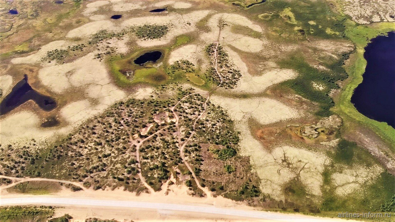 Пейзаж в окрестностях Нарьян-Мара