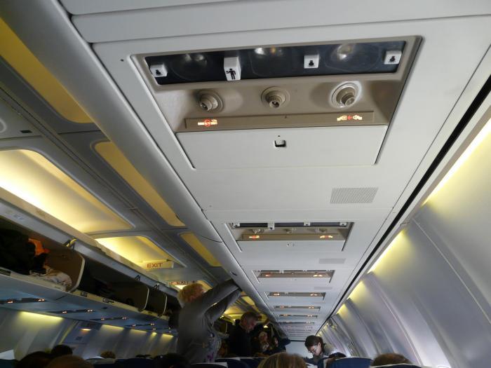 Onboard of Boeing 737-500 Rossiya Ailrlines