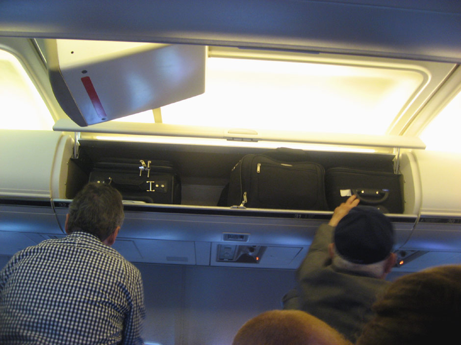 In the American Airlines' Boeing 757