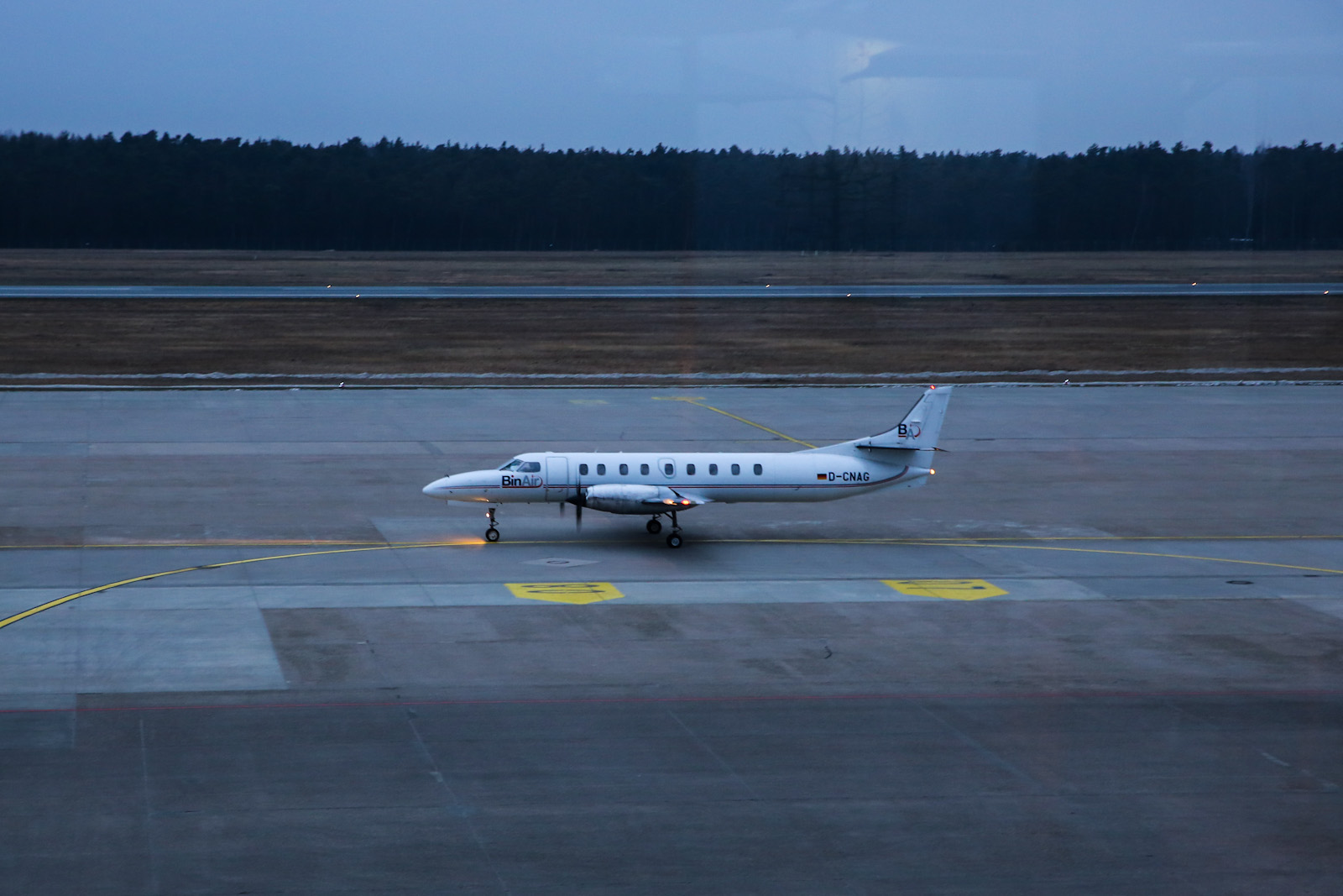 """Самолет Fairchild Metro авиакомпании """"BinAir"""" в аэропорту Нюрнберг"""