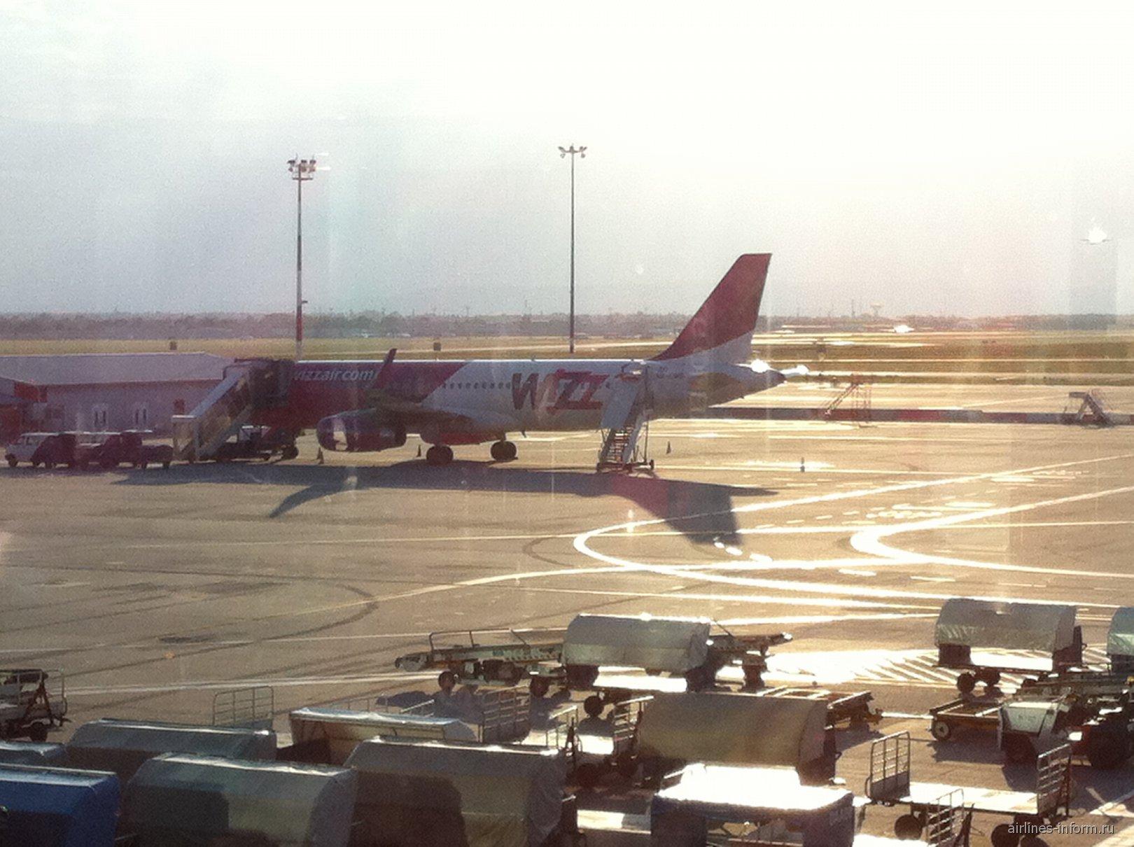 A320 Венгерского лоукостера Wizz Air