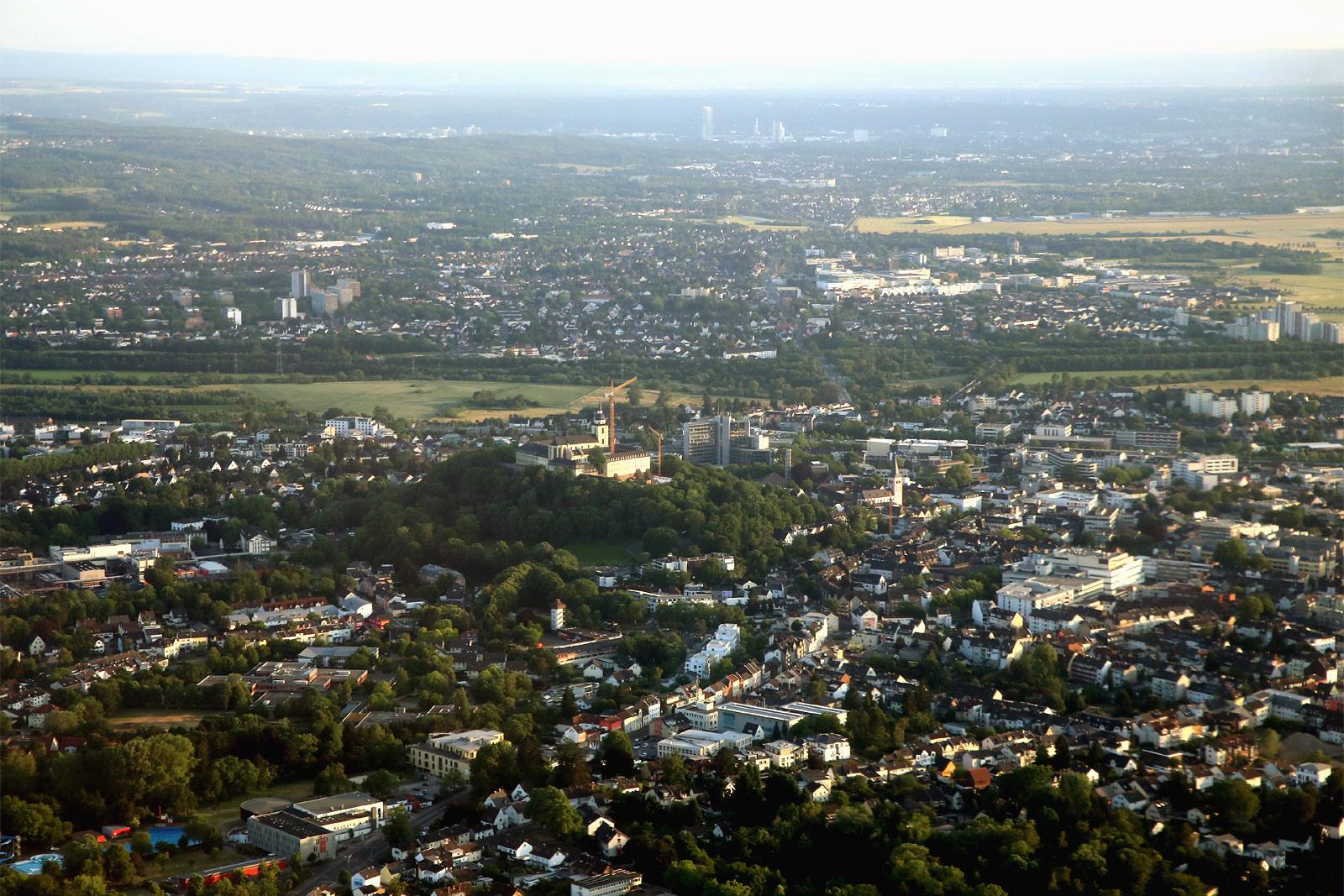 Город Зигбург рядом с Кёльном