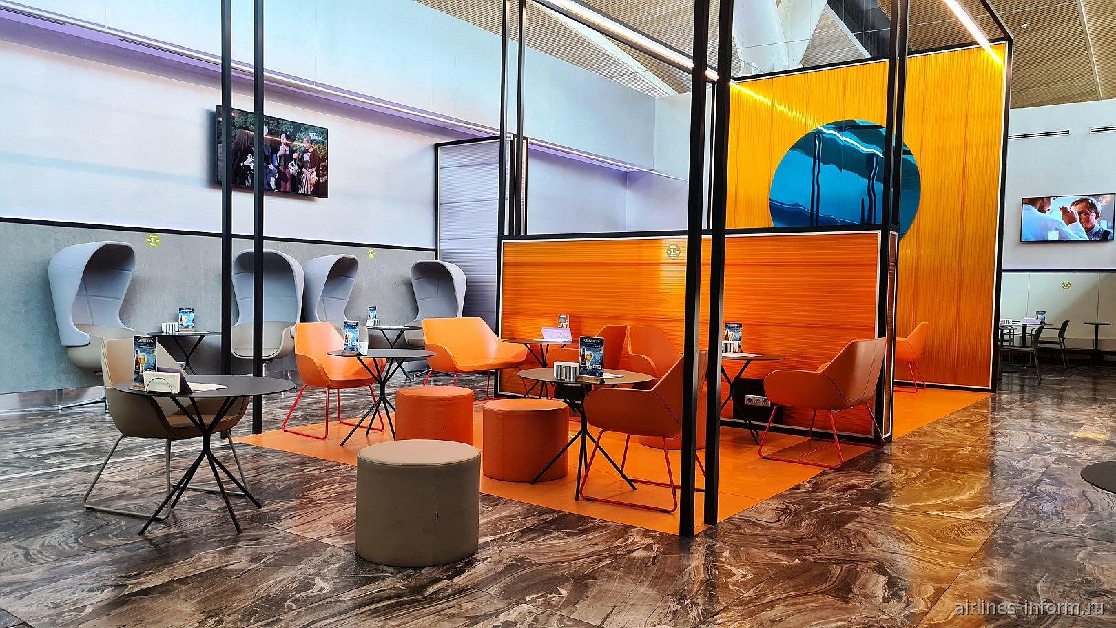 Бизнес-зал Priority Pass в аэропорту Платов, зона внутренних вылетов
