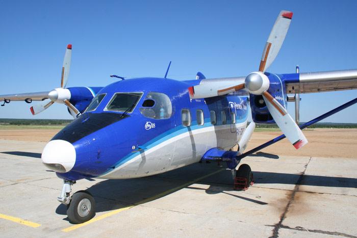Самолет Ан-28 авиакомпании Регион-Авиа