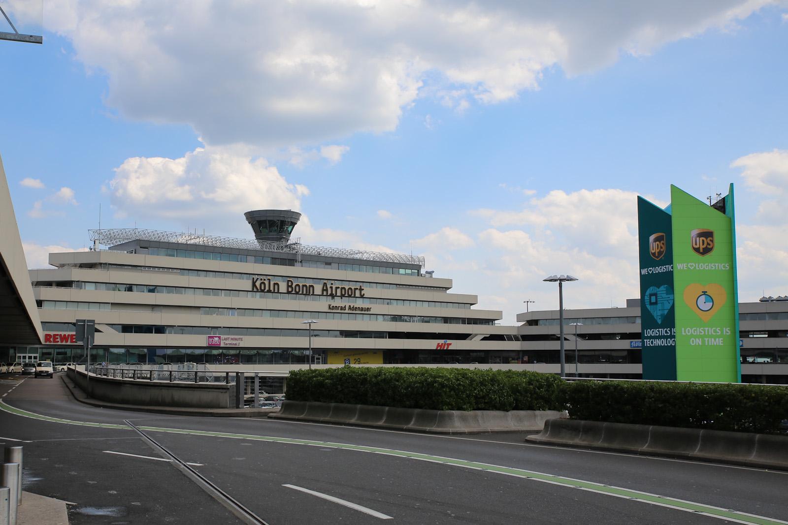 Терминала 1 аэропорта Кёльн/Бонн