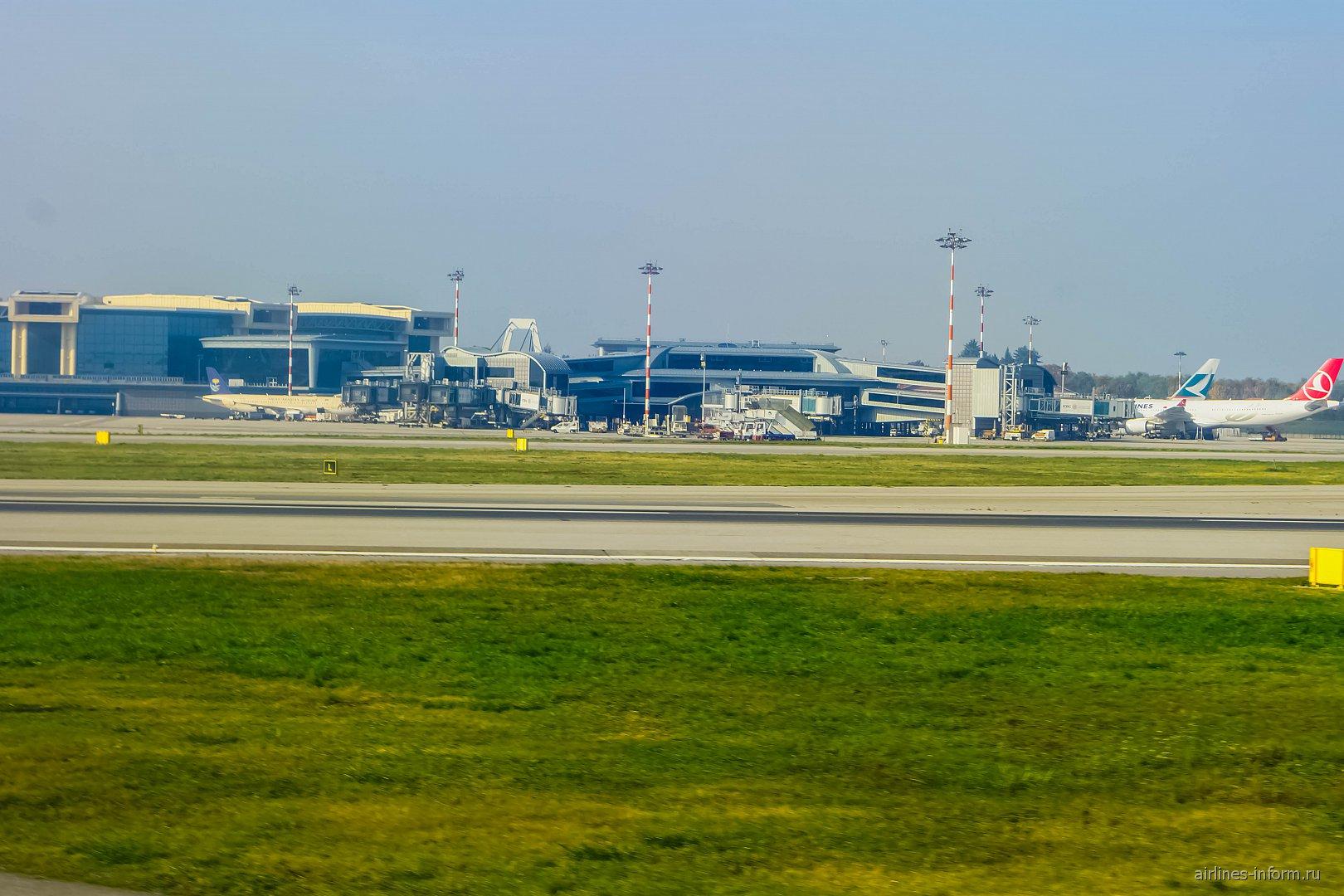 Новый терминал в аэропорту Милан Мальпенса