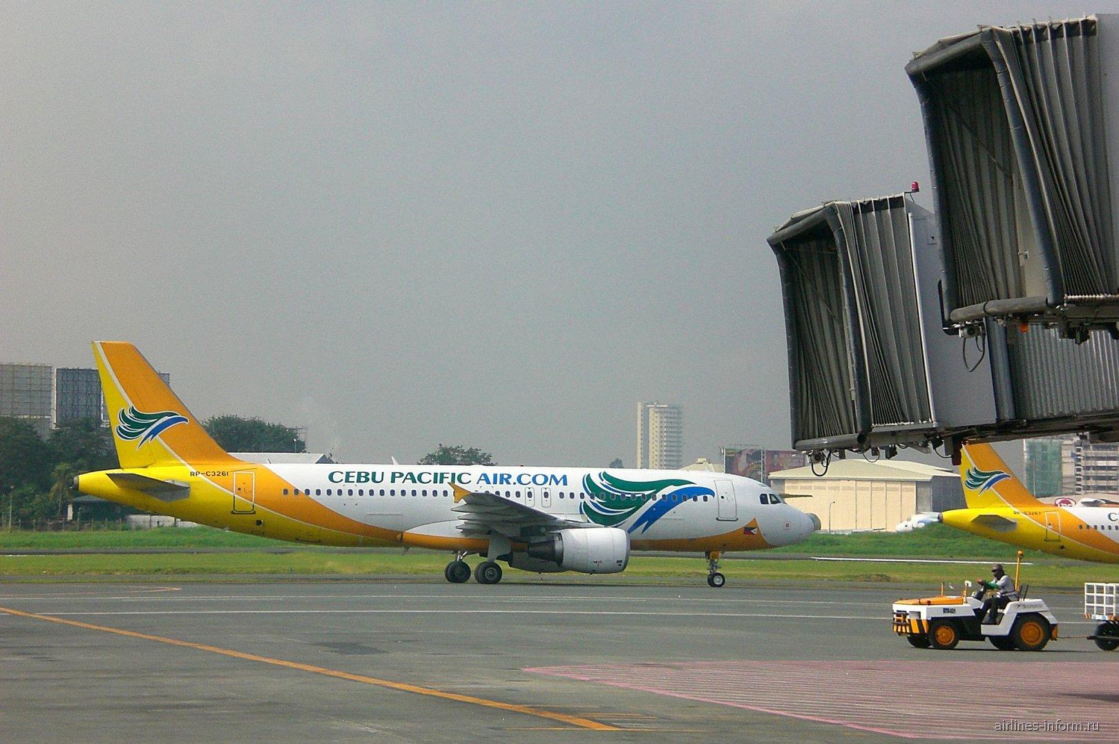 Airbus A320 авиакомпании Cebu Pacific