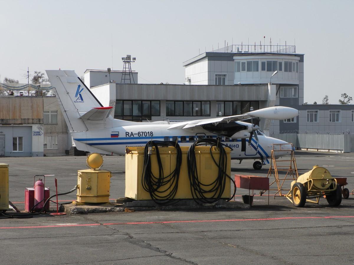 В аэропорту Братск