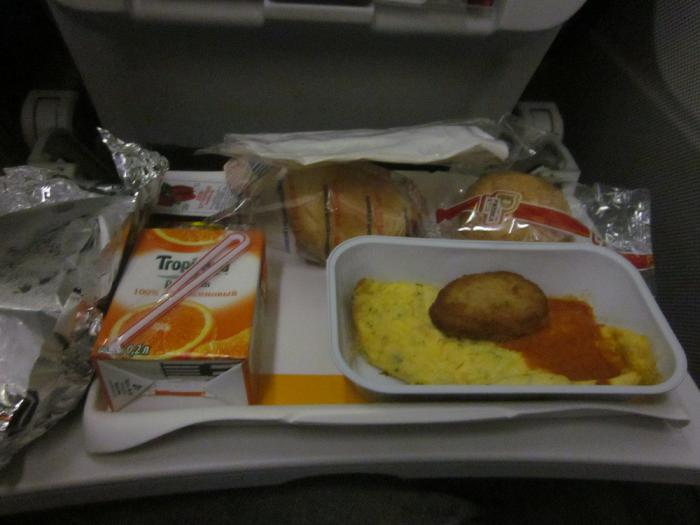 Питание на рейсе Люфтганзы Петербург - Мюнхен