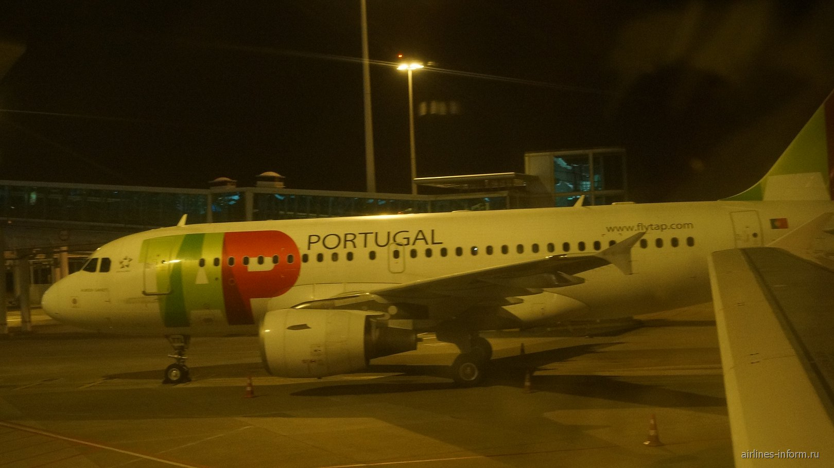 Airbus A319 авиакомпании TAP Portugal в аэропорту Порту