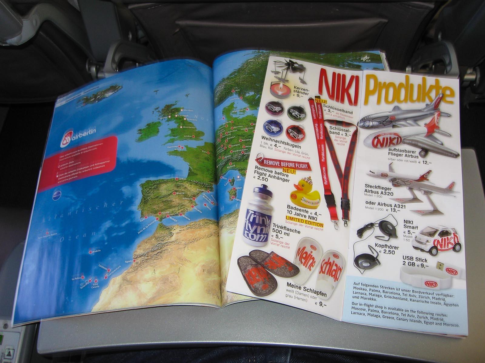 Журнал для пассажиров авиакомпании Ники