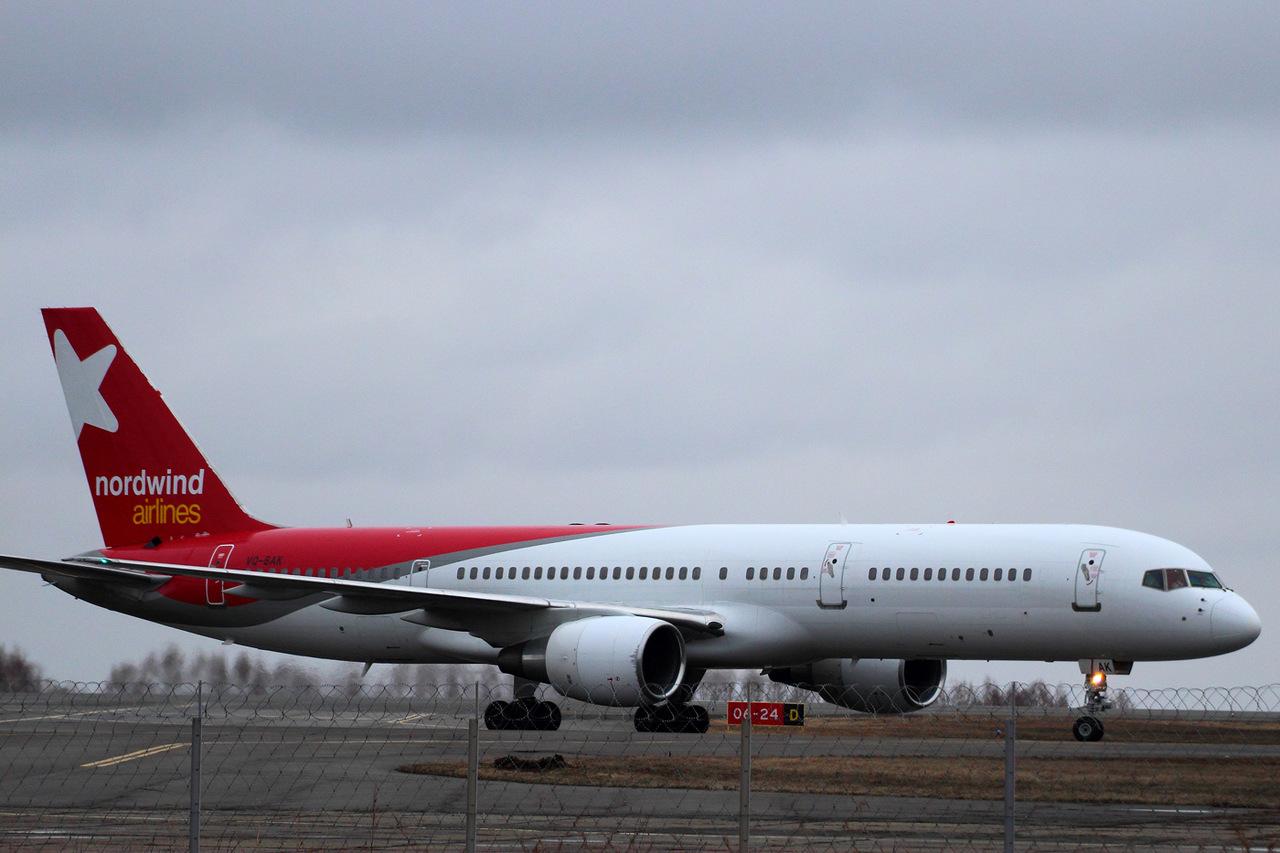 Боинг-757-200 авиакомпании Nordwind