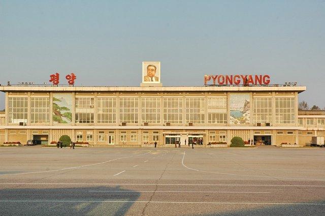 Старый терминал аэропорта Пхеньян