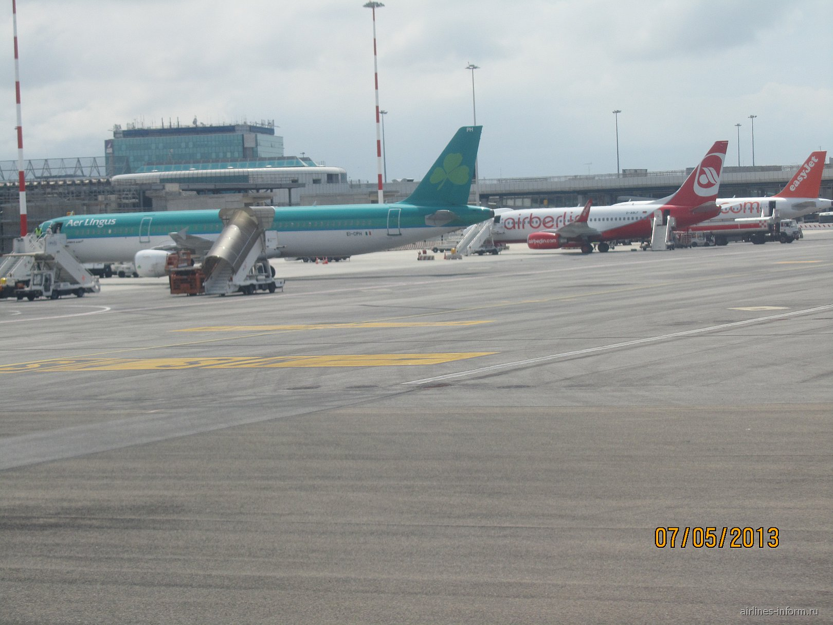 В римском аэропорту Фьюмичино