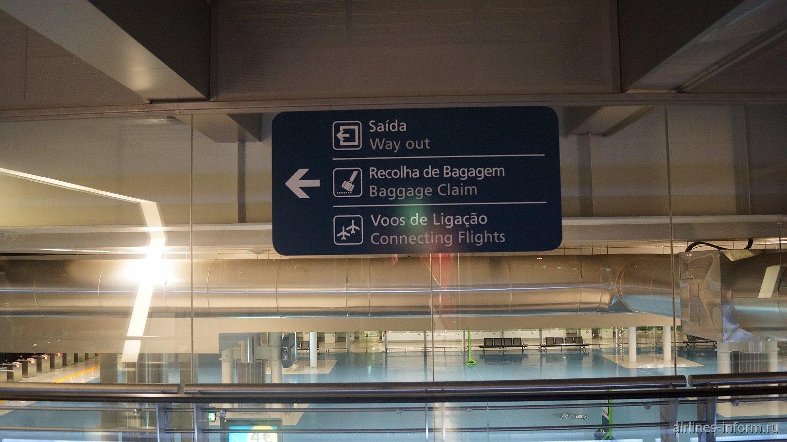В аэропорту Порту Франциско Карнейро