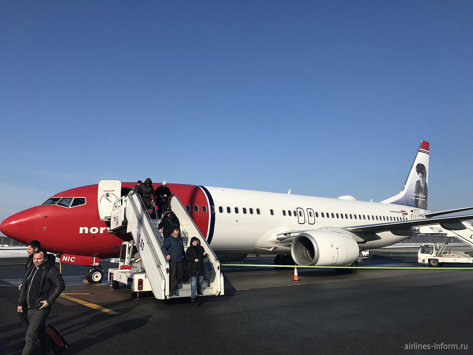 Стокгольм (ARN) - Рига (RIX) на Boeing 737-800 авиакомпании Norwegian Air Shuttle (90 фото)