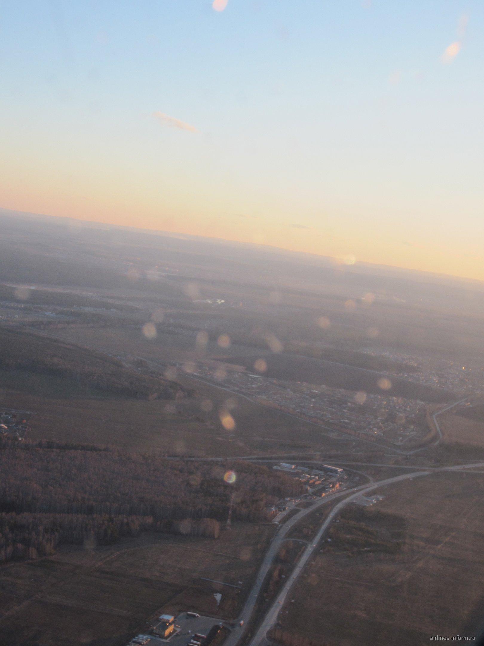 Рейс Барселона-Екатеринбург авиакомпании Уральские авиалинии