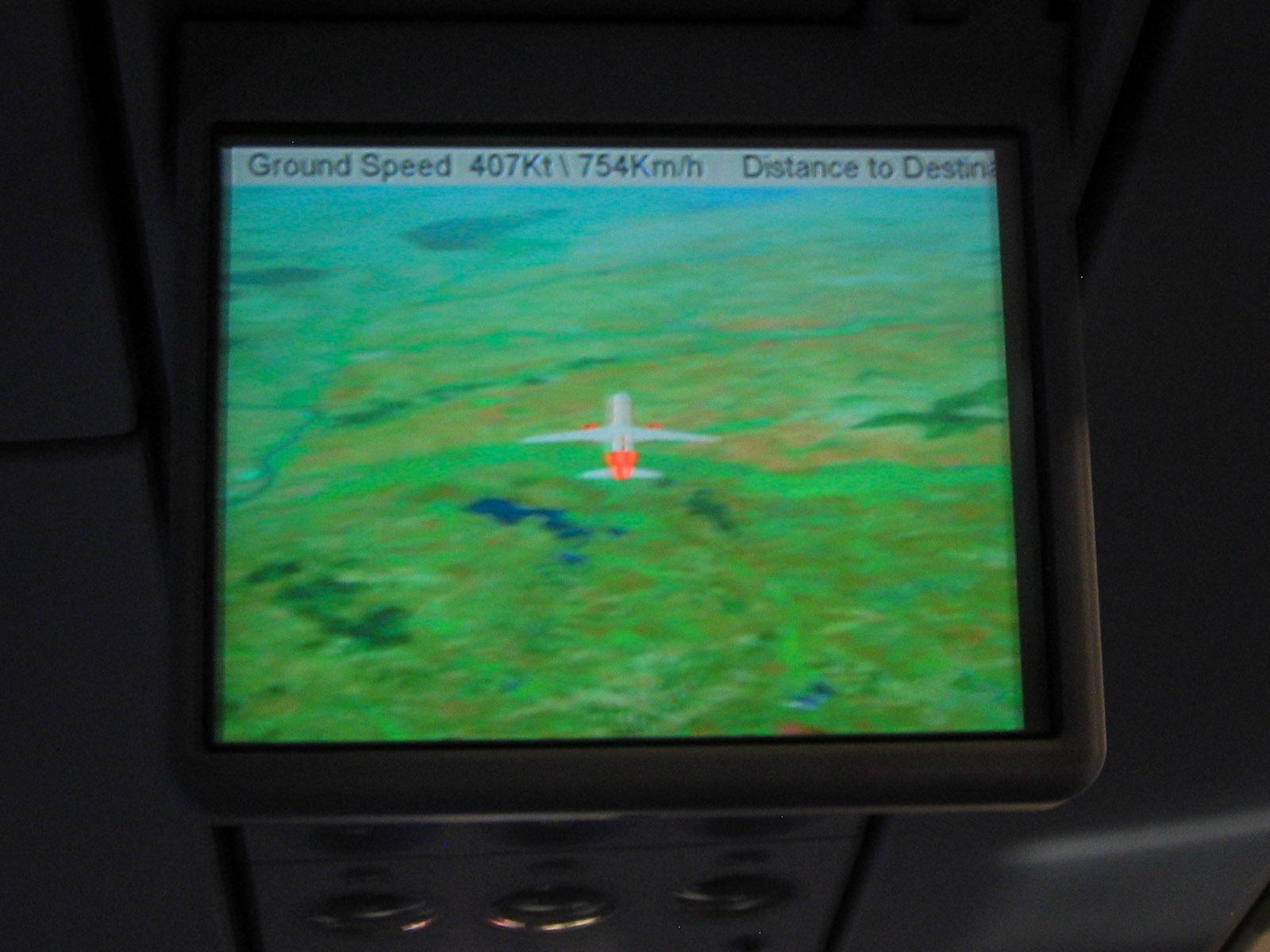 Онлайн карта полета Москва-Вена