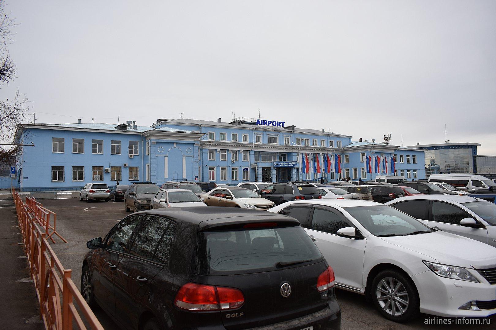 Международный терминал аэропорта Иркутск