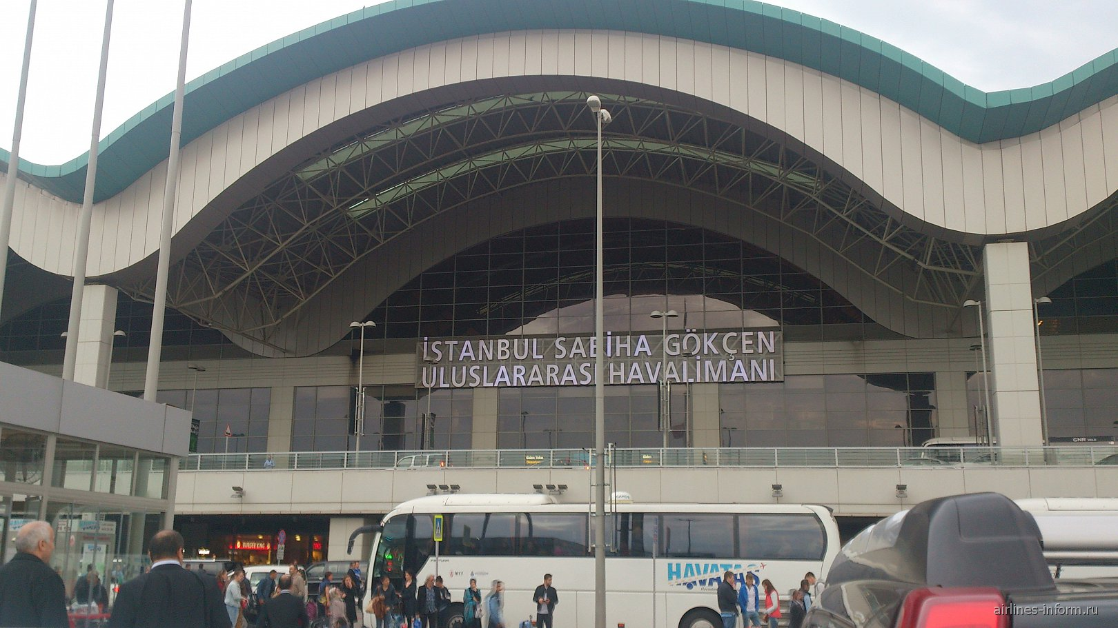 Аэропорт Стамбул Сабиха Гекчен
