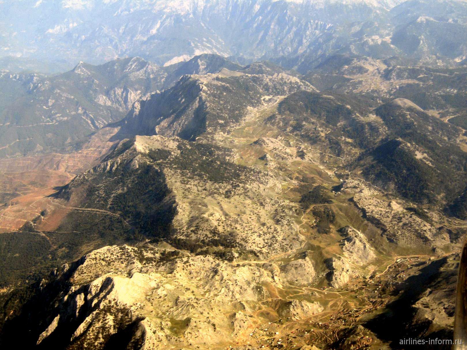 Горы на востоке Турции