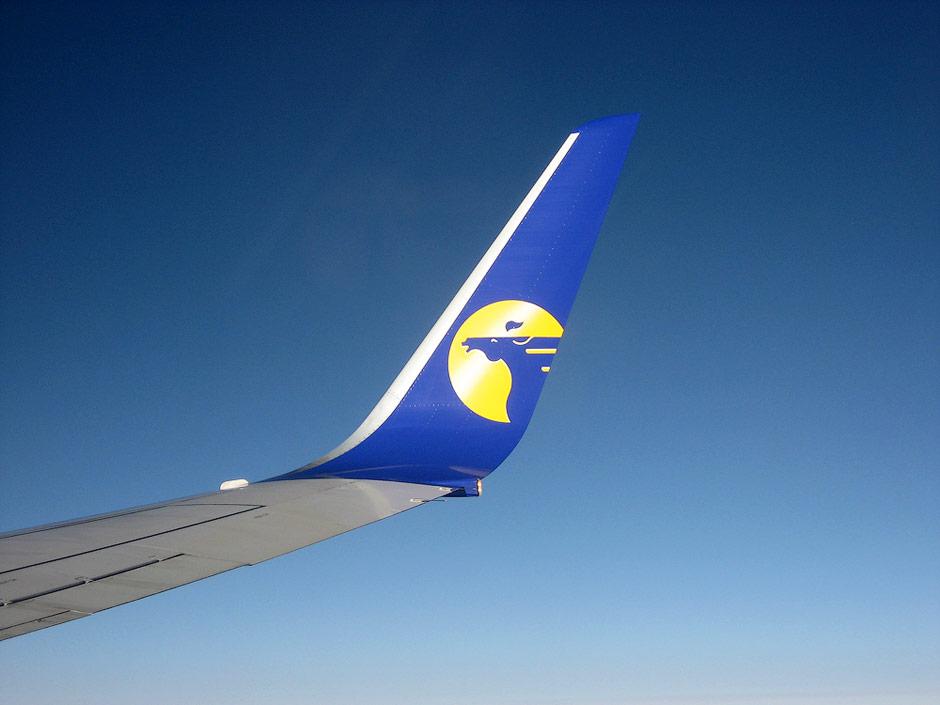 Винглет самолета Боинг-737-800 Монгольских авиалиний