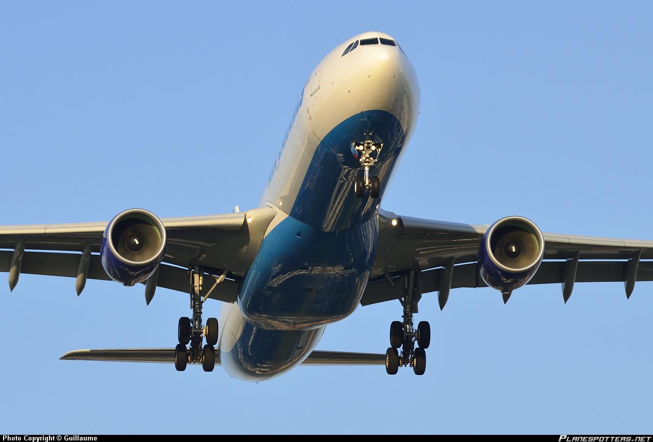 Cамолет Airbus A330-300 авиакомпании Air Caraibes