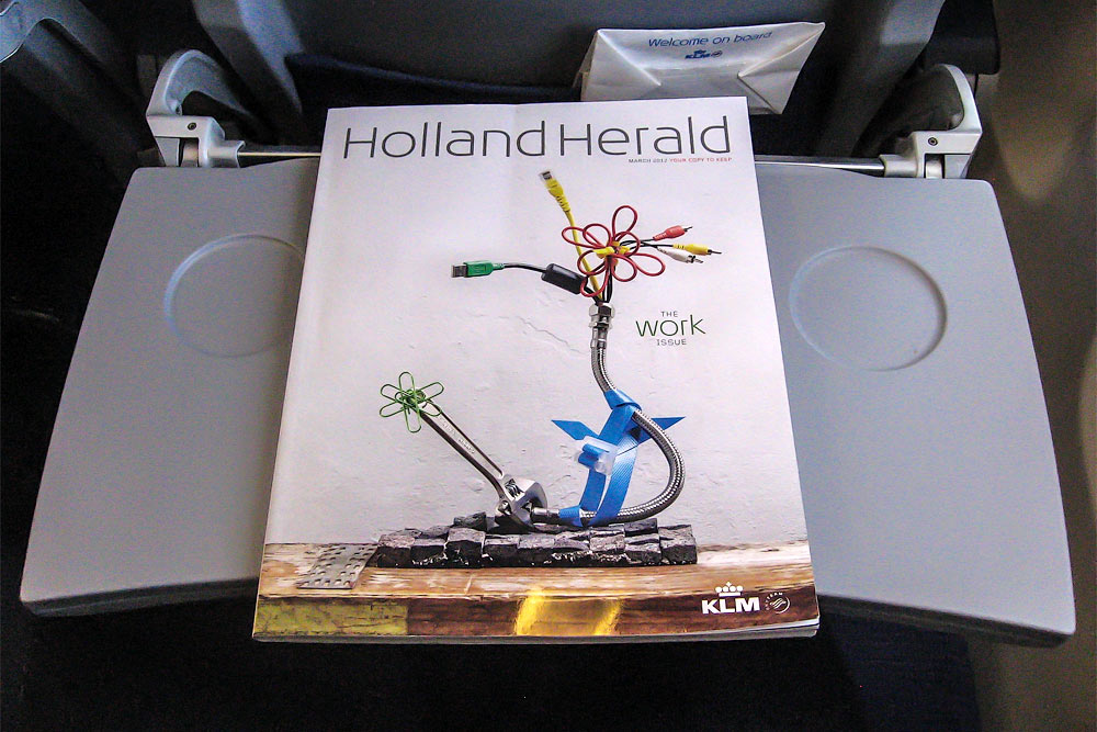 Inflight magazine of KLM Royal Dutch Airlines