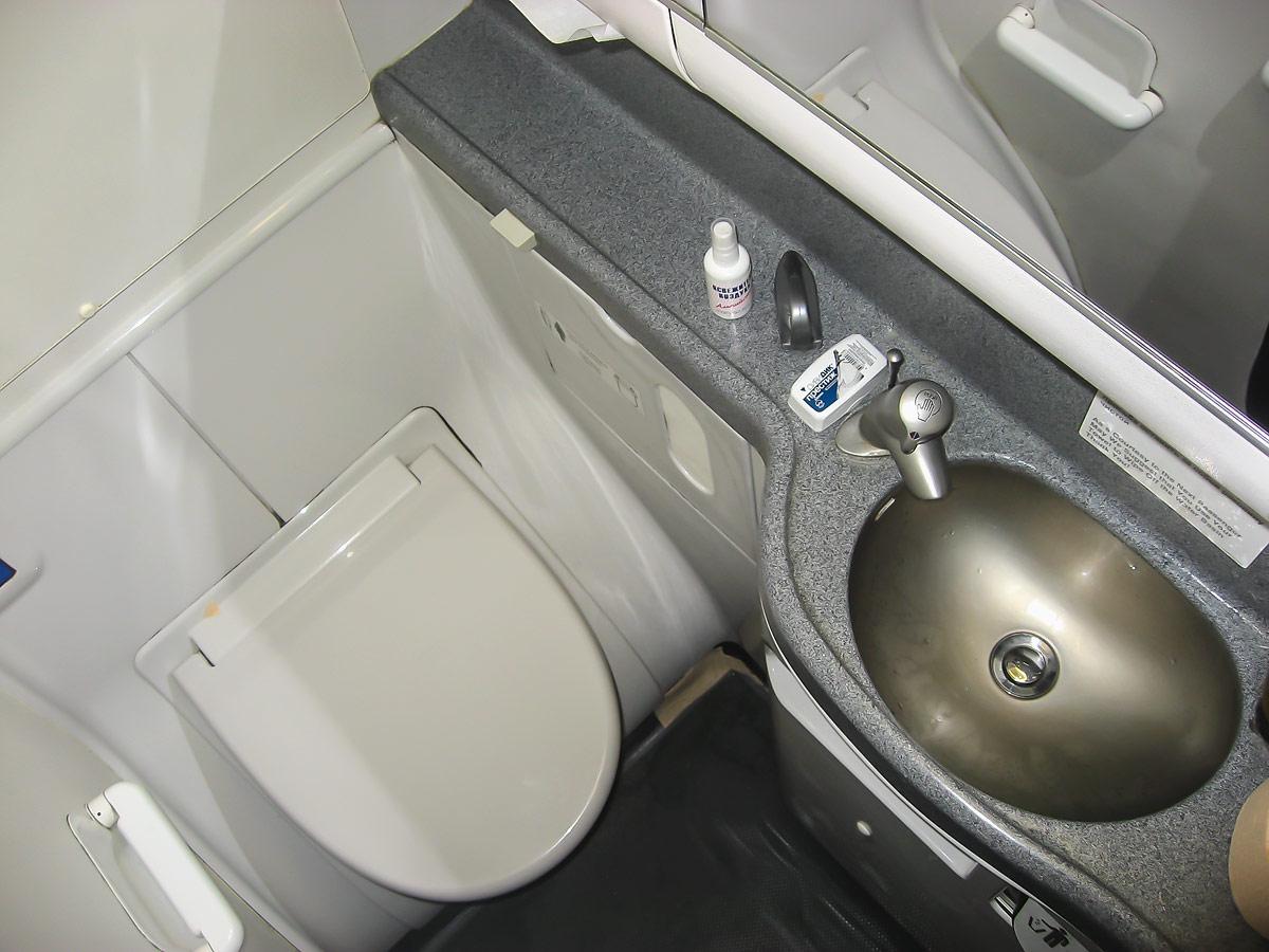 Restroom of UTair Boeing 737-800