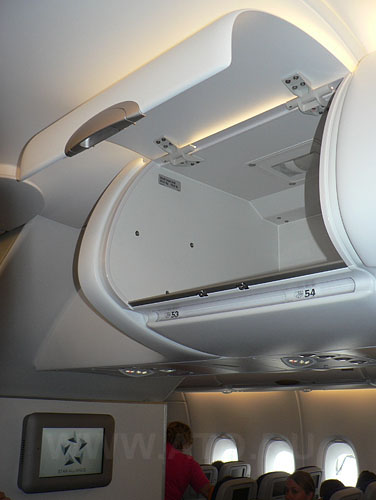 Багажная полка в самолете Airbus A380