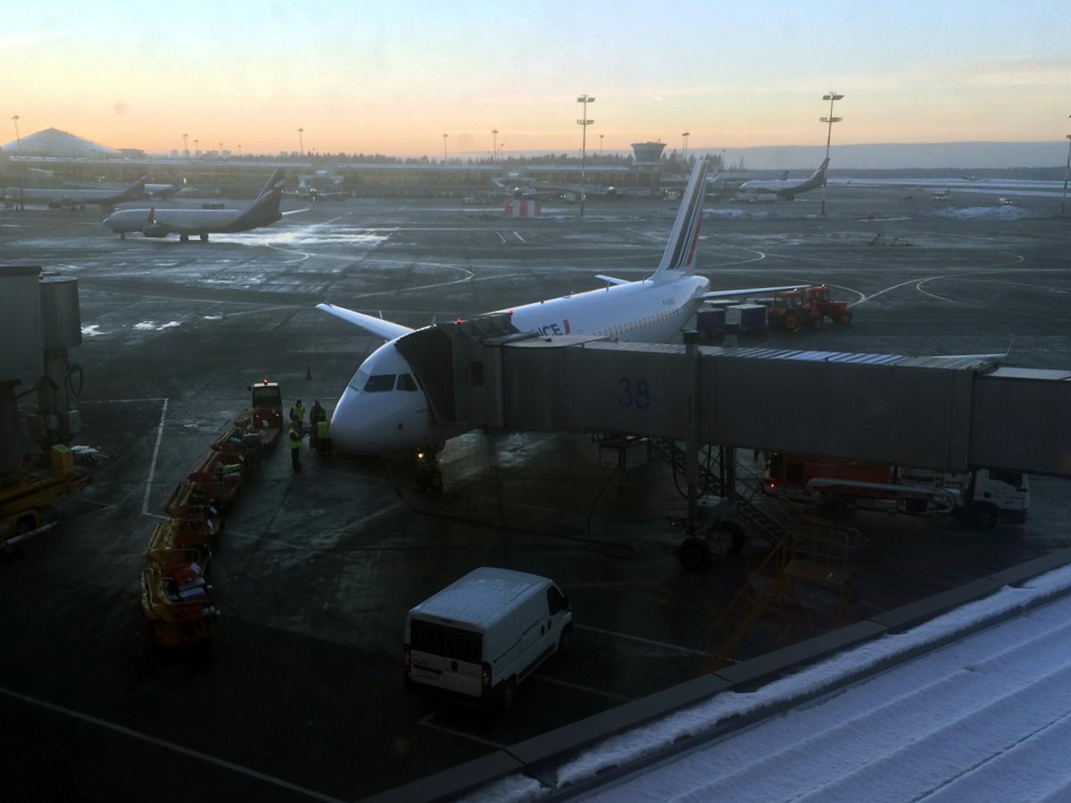 Airbus A319 F-GRHZ