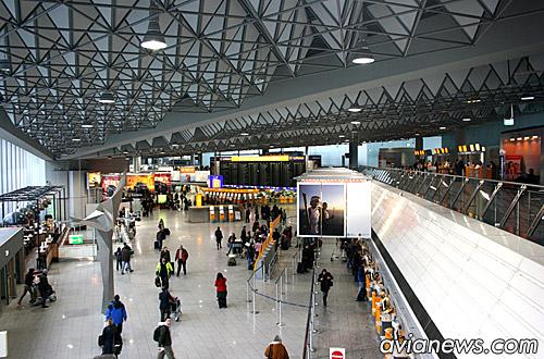 Аэровокзал аэропорта Франкфурта-на-Майне