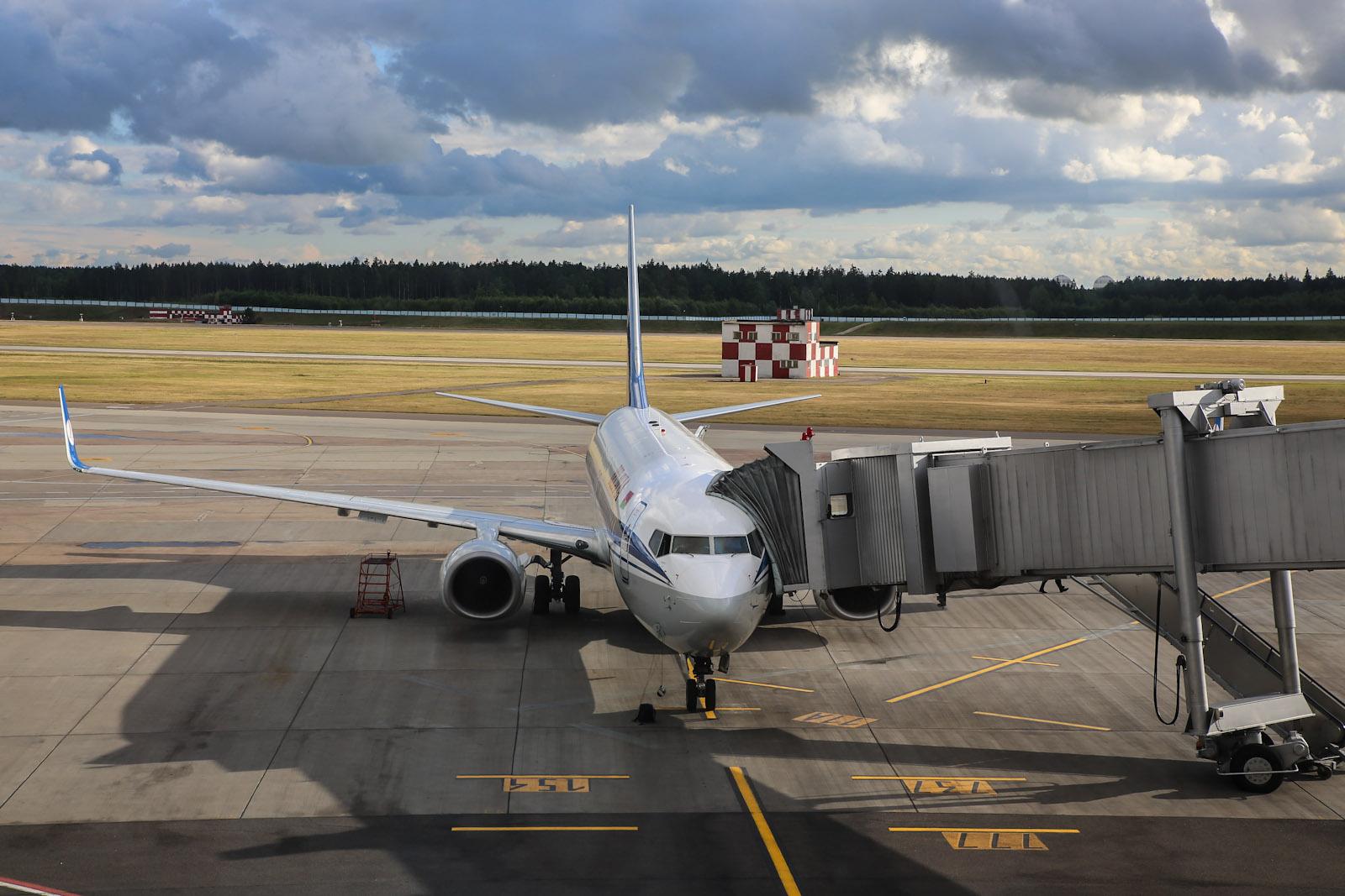 Боинг-737-800 Белавиа в аэропорту Минска