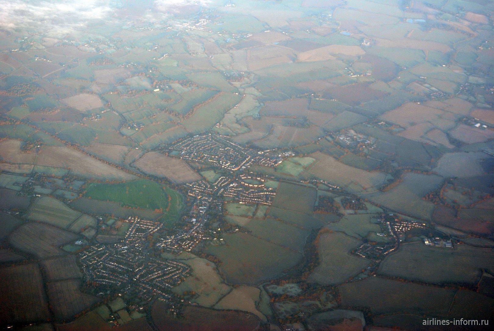 Городок Chipping Ongar в Великобритании