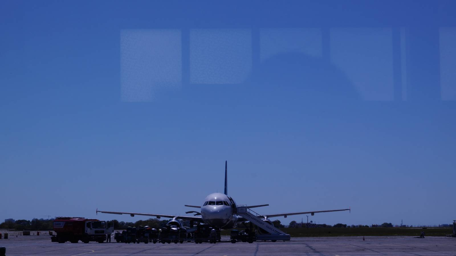 В аэропорту Одессы