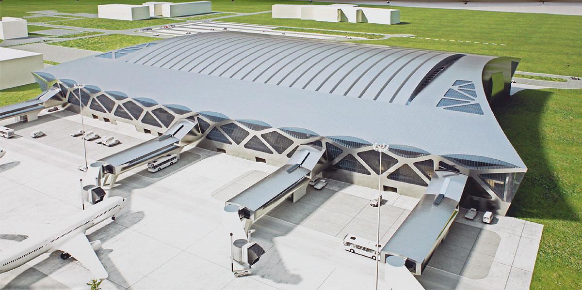 Новый терминал аэропорта Красноярск Емельяново