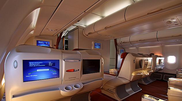 Business class in Airbus A330-200