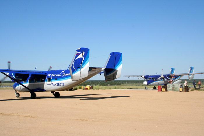 Ан-28 Регион-Авиа в Якутске
