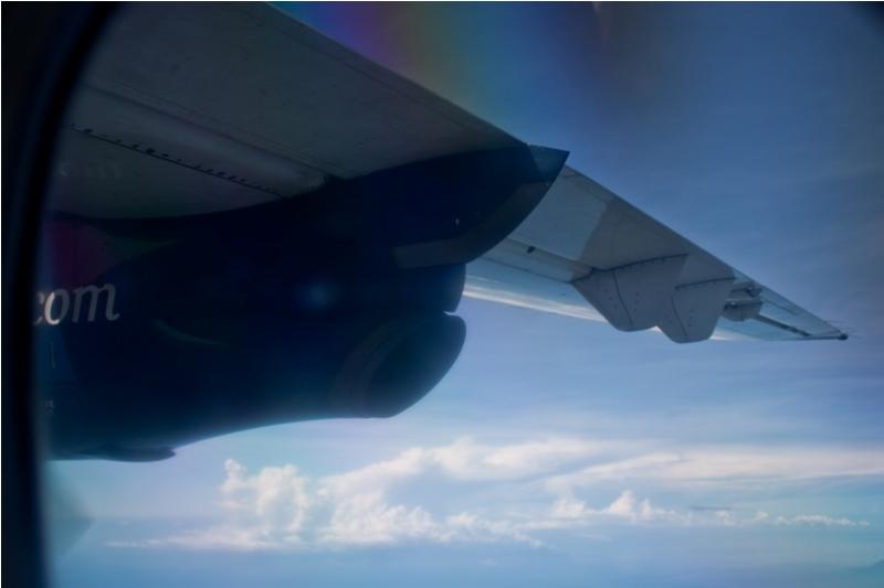 Dornier 328 in a flight